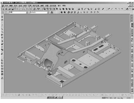 三维CAD技术在液压挖掘机设计中的应用