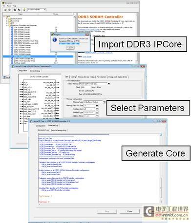 基于DDR3存储器接口控制器IP核的视频数据处理
