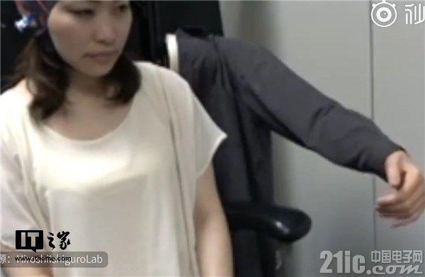 机械战警真实版?日本研制脑电波信号控制新型机器人手臂