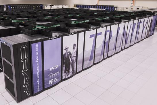 """美国核武器库""""管理员""""超算Trinity打破世界纪录:两分钟创建万亿个文件"""