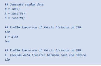 使用MATLAB轻松享受GPU的强大功能