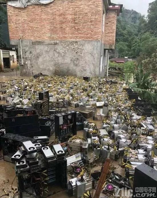 一场暴雨使四川2.5万挖矿大军掀起跑路潮!