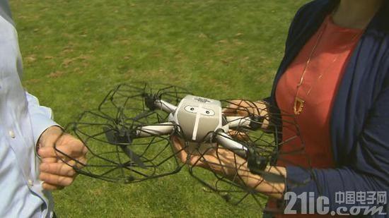 有创意!无人机表演代替烟火