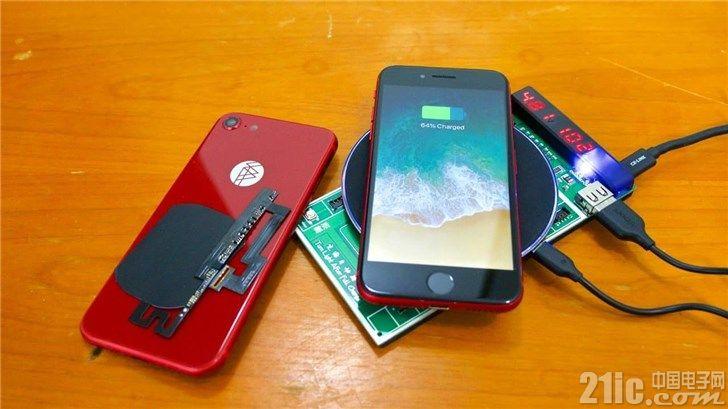 华强北这么强大,装上零件,苹果iPhone 7也能支持无线充电