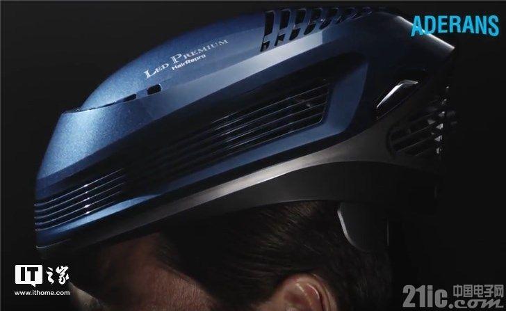 这款LED自行车头盔了不得,竟能防脱发!