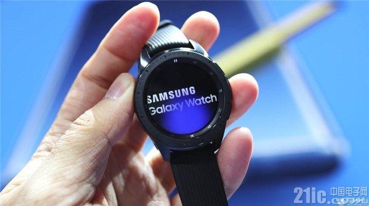 三星Galaxy Watch实拍图,看着真像机械表
