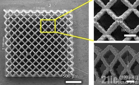 3D打印技术造出微观多孔锂电池 使锂电池容量陡增4倍