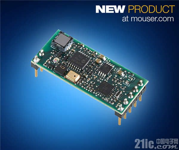 TE Connectivity AmbiMate MS4系列传感器模块在贸泽开售  让环境传感器集成更轻松