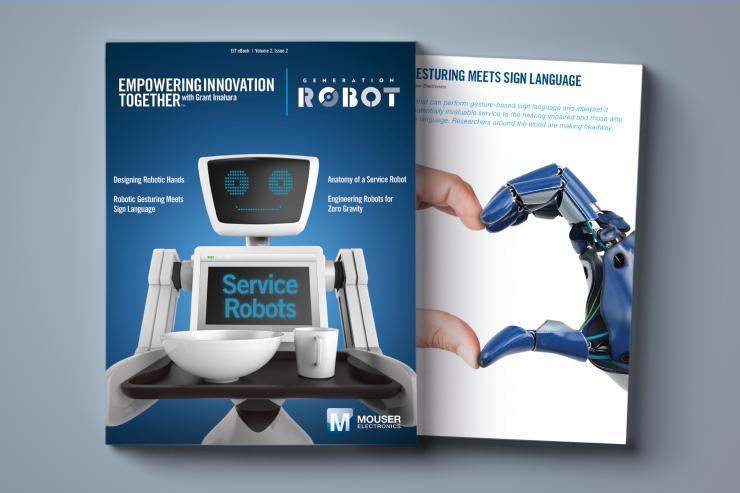 贸泽与格兰特・今原联手发布电子书《Generation Robot》  揭秘服务机器人现状