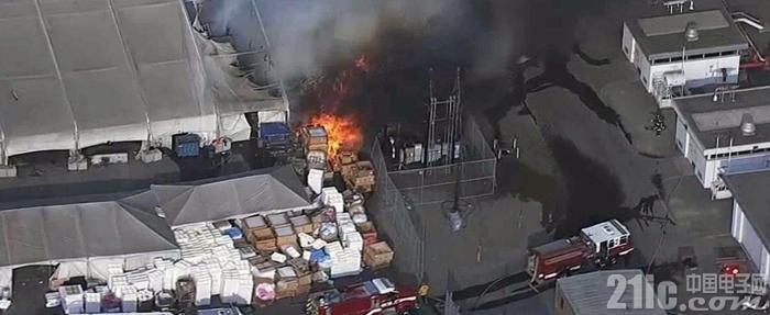 特斯拉工厂又发生火灾 事故原因尚在调查