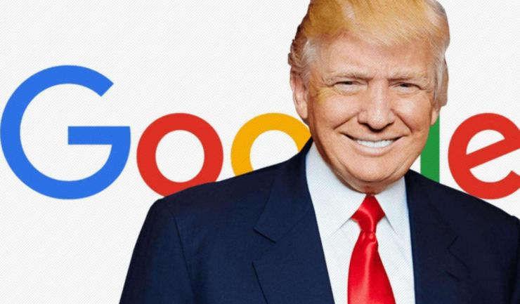 特朗普炮轰谷歌:Google一下,都是我的坏话!