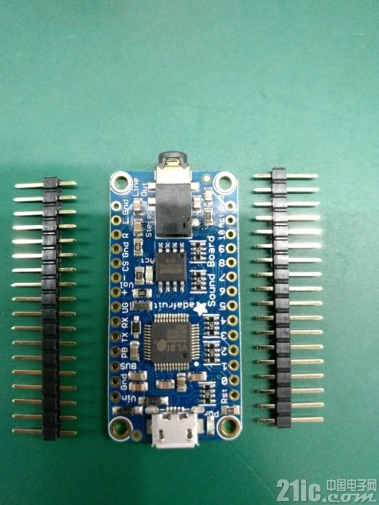 让音乐播放更简单――Adafruit Music Maker FeatherWing和Audio FX Sound Board评测
