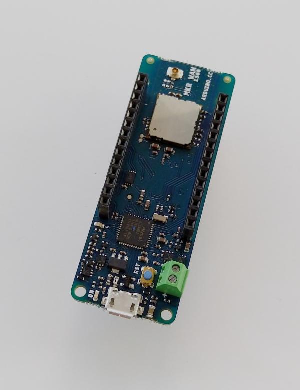 来自Arduino的小巧的LoRa开发板――MKR WAN 1300开发板评测