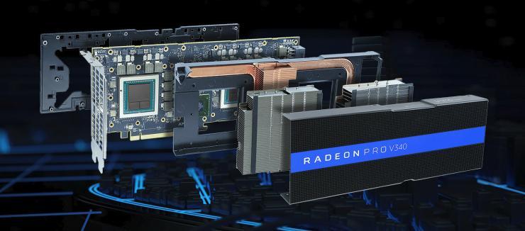 英伟达不再孤独,AMD发布双芯Vega专业图形显卡