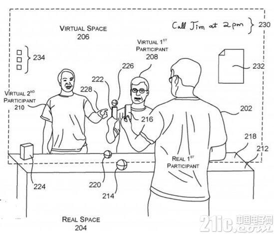 比视频聊天更真实!微软获得远程沉浸式体验专利