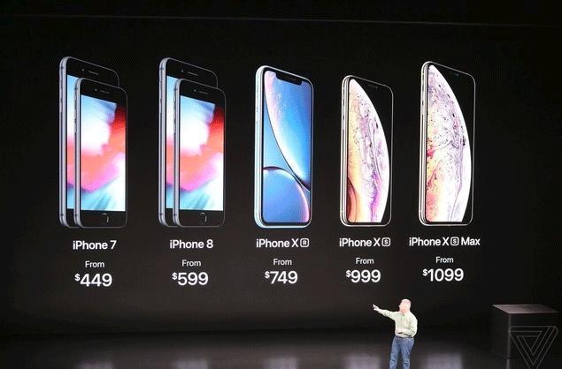 新iPhone价格公布:吐血!廉价版都这么贵?!