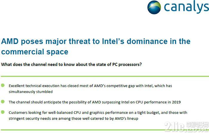 Intel慌不慌?明年AMD Zen 2架构处理器性能要超越Intel?