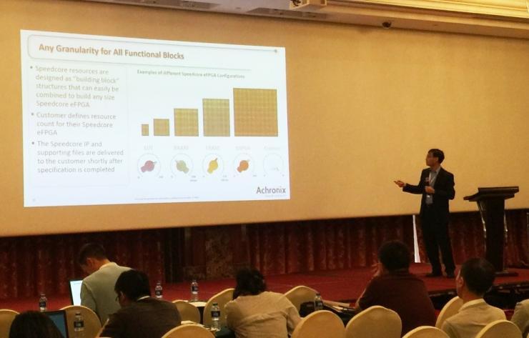 Achronix出席D&R IP SoC China会议,介绍并展示Speedcore eFPGA如何加速边缘计算
