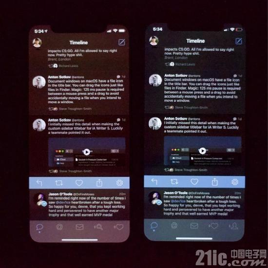 失望!新iPhone有缺陷?亮度降低时颜色变异扭