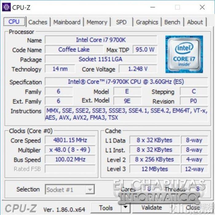 从6核升到8核,Core i7-9700K性能怎么样?偷跑曝光