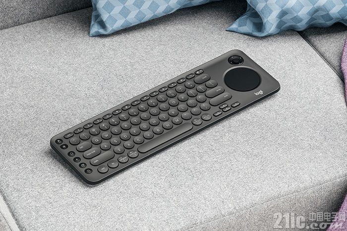 为智能电视而生,罗技新推无线键盘可当遥控器!