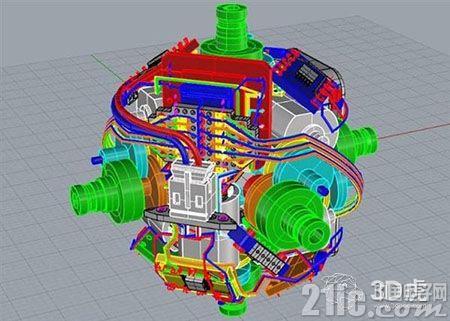 日本发明家创造了一个令人惊叹的3D打印自我解决魔方