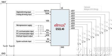 图二 E522.46典型应用图
