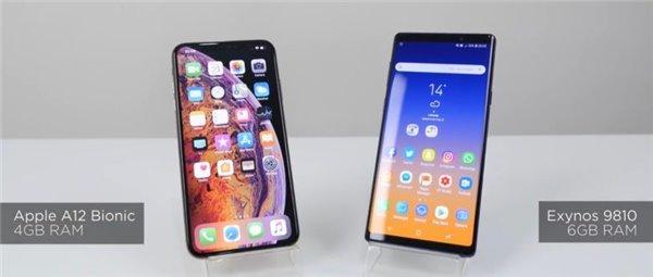 三星Note9 VS 苹果iPhone XS Max谁更强?数据说话!