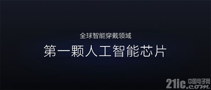 55nm,华米发布首款集成AI的可穿戴处理器黄山1号