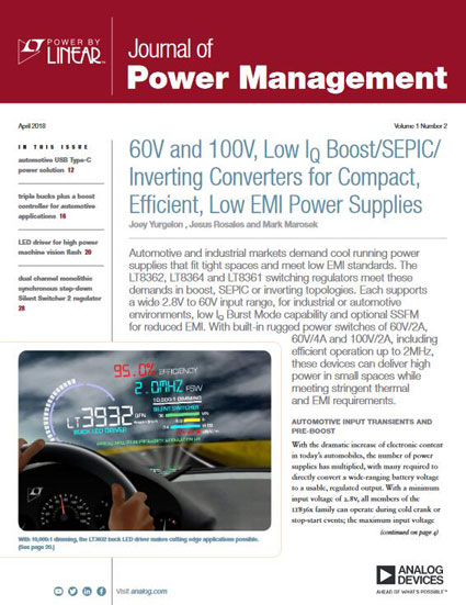 Journal of Power Management (2018 年 4 月刊) 英文版