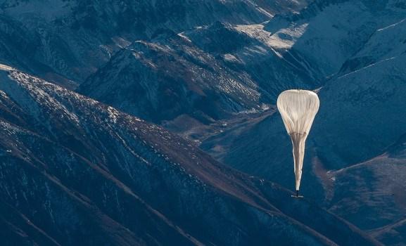 谷歌联网气球新突破!7个气球给1000公里范围内送网!