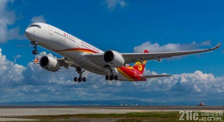 香港航空庆祝 A350XWB 客机交付,装备泰雷兹 AVANT 机载娱乐及互联解决方案