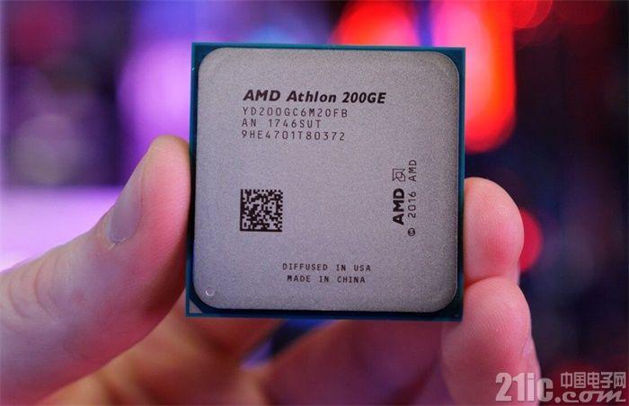AMD与Intel战火烧到了入门级产品上,AMD Athlon 200GE处理器性能揭晓