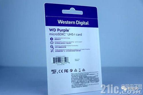 西部数据打造中高端TF移动存储卡