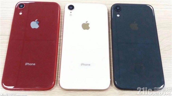 iPhone XC原型机曝光:四种配色、支持双卡双待