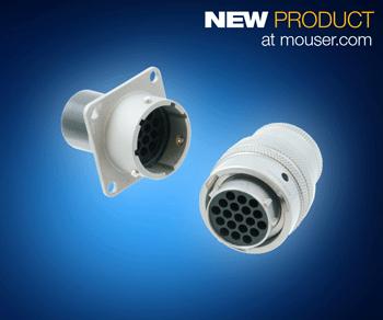 Amphenol Industrial LPT系列连接器在贸泽开售  为一般工业环境和恶劣环境而设