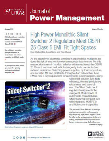 Journal of Power Management (2018 年 1 月刊) 英文版