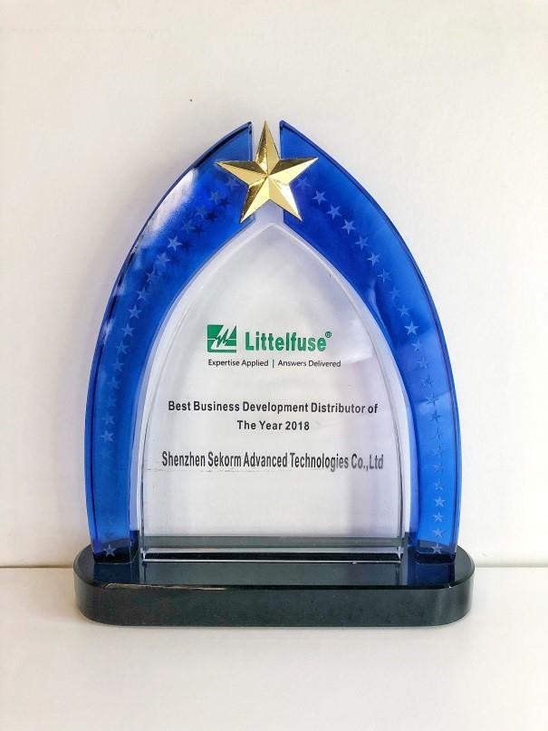 凭借对SiC MOSFET的大力推广 世强获Littelfuse最佳市场开发代理商