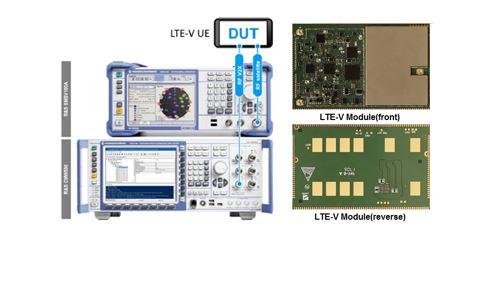 罗德与施瓦茨与大唐电信联合宣布:双方实现LTE-V产品多项对接测试