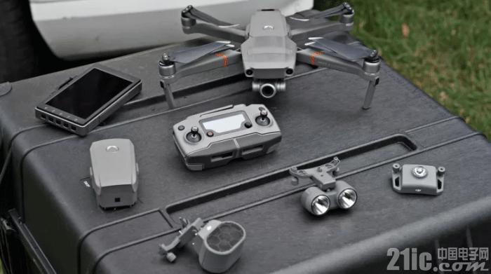 大疆发布 Mavic 2 Enterprise 模块化无人机,用于应急救援、商用!
