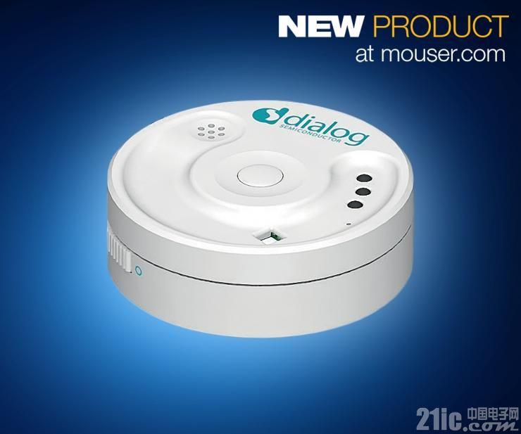 Dialog SmartBond多传感器套件在贸泽开售  让物联网应用拥有蓝牙连接和15自由度