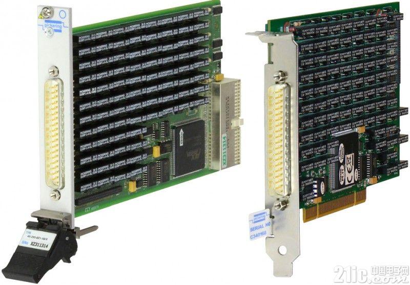 Pickering Interfaces推出的高精度PXI/PCI精密程控电阻模块使用寿命长和操作速度快是一大亮点