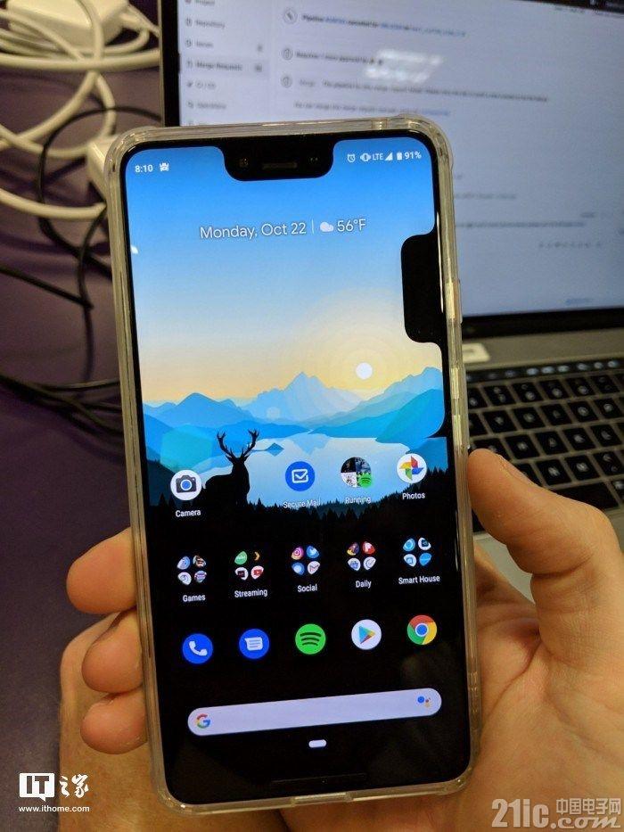 """真要逼死强迫症?谷歌Pixel 3/3 XL再爆bug:屏幕出现双""""刘海"""""""
