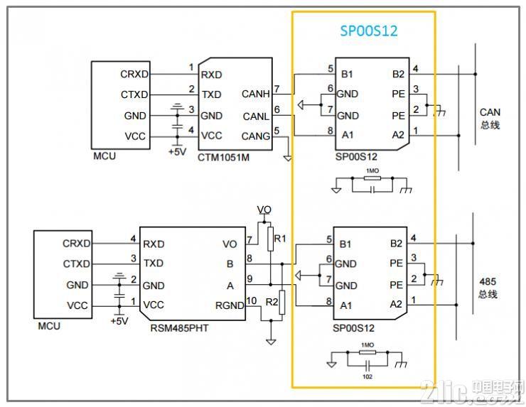 图7 SP00S12应用