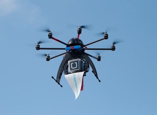 招无人机主管,Uber拟建无人机送外卖业务