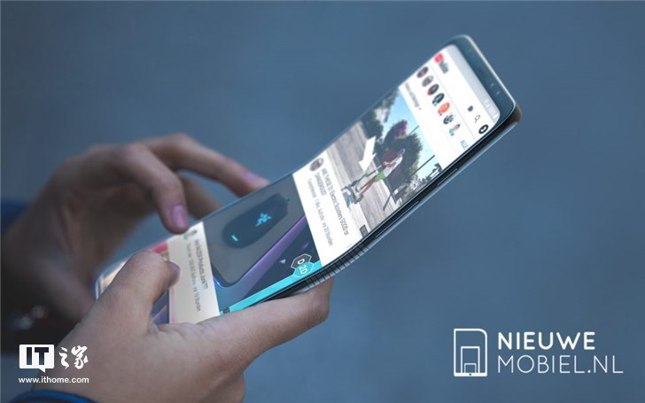 三星可折叠手机渲染图曝光,高清多图,速来围观!