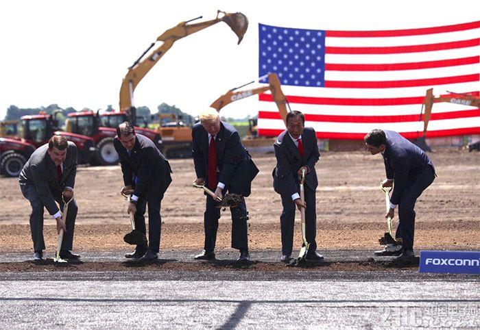 富士康美国面板厂开始招人,改为成熟的6代线,更加自动化!