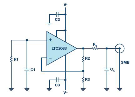 用于快速测试电路信号响应的袖珍型白噪声发生器
