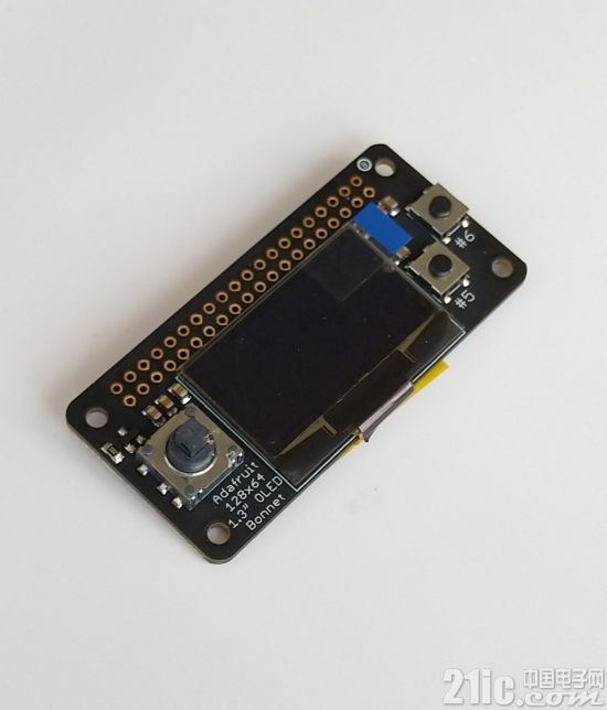 PIL与OLED的组合--Adafruit 128x64 OLED for Raspberry上手