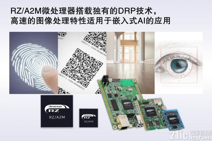 瑞萨电子推出可实现高速图像处理和嵌入式人工智能应用的RZ/A2M微处理器
